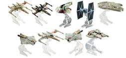 Hot Wheels STAR WARS STARSHIPS Flight Stands Character Cars
