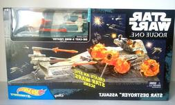 Hot Wheels Star Wars Toys Rogue One Star Destroyer Space Pla