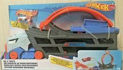 Hot Wheels Stunt and Go Track Set Kid Toy Gift