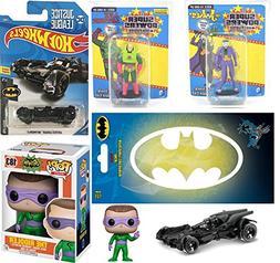 AYB Super Cars & Figures 2018 Batman Hot Wheels Batmobile &