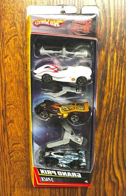 Hot Wheels Target Speed Racer Grand Prix 3 pack with accesso