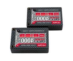 Team Orion CarbonProUltra7.4V 4000110C18.5mmSaddleTubes Batt