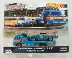 Hot Wheels Team Transport #18 '70 PLYMOUTH SUPERBIRD WIDE OP