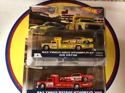 HOT WHEELS TEAM TRANSPORT SNAKE & MOONGOOSE FUNNY CAR WITH R