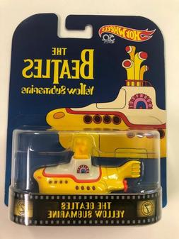 The Beatles Yellow Submarine * Hot Wheels Retro Case G * SAL