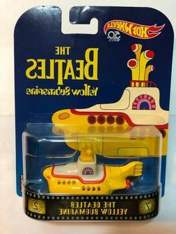 Hot Wheels The Beatles Yellow Submarine Retro METAL/METAL -