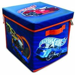 "Toy Chests & Storage Hot Wheels ZipBin 300 Car Cube Toys "" G"