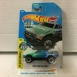 Toyota Off-Road Truck #78 * Falken Tampo * 2017 Hot Wheels *