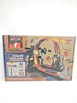 Hot Wheels Track Builder Construction Crash Kit with Mega Co