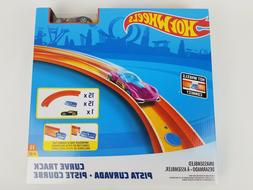 Hot Wheels Track Builder Curve Kit Accessory with car 15 pie