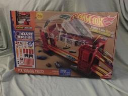 Hot Wheels Track Builder Stunt Bridge Kit Car Racing Play Se