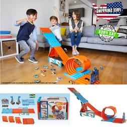 Hot Wheels Track Builder System Race Crate - Stunt Set Jugue