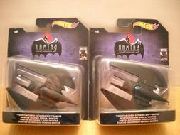 Two Hot Wheels Batman Animated Series Batwing 1:50 Scale 80