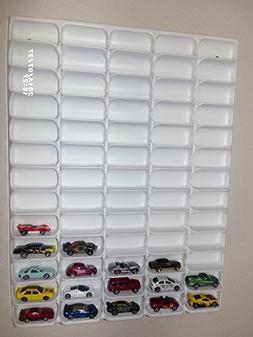 Mascar Ultima Hotwheels Matchbox 1/64 scale Display case Whi