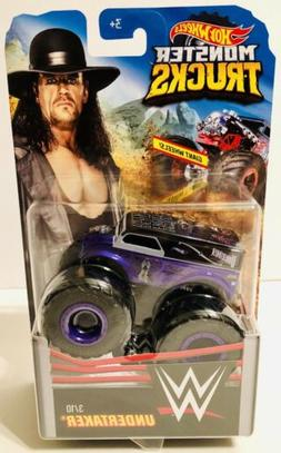 ⭐️⭐️⭐️ UNDERTAKER WWE Monster Trucks With Giant