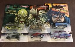 HOT WHEELS UNIVERSAL STUDIOS DIECAST CARS~FRANKENSTEIN*WOLFM