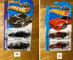 Hot Wheels Variations Mazda RX-7 Ferrari 458 Spider roll cag