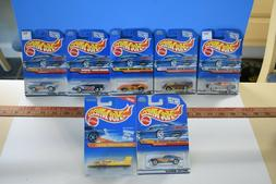 VINTAGE HOT WHEELS LOT OF 7 SERIES CARS AND 1 BOAT  NESTLE C