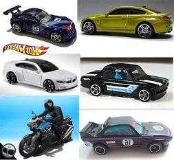 Hot Wheels BMW 2016 Collection + M4 Series Gold & White / Z4