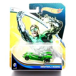 Hot Wheels, 2015 DC Comics Character Car, Green Lantern, 1:6