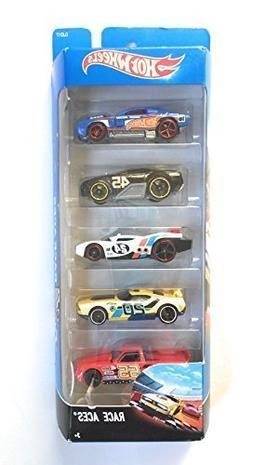 Hot Wheels, 2016 Race Aces 5-Pack