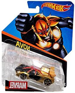 Hot Wheels, Marvel Character Car, Nova Die-Cast Vehicle #25