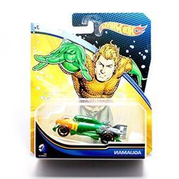Hot Wheels, 2015 DC Comics Character Car, Aquaman, 1:64 Scal