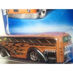 Hot Wheels The City Works Series Issue Surfin' School Bus Wi