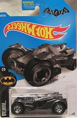 Hot Wheels CUSTOM BATMAN ARKHAM KNIGHT BATMOBILE 4/5 Real Ri