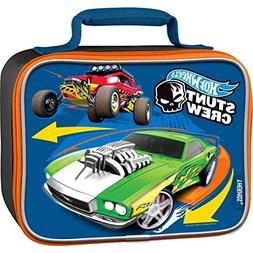 Hot Wheels Licensed Thermos LLC Soft Lunch Box