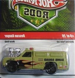 Hot Wheels Military Rods Rescue Ranger