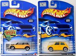 Set of 2 Hot Wheels MINI COOPERs from 2000 and 2001 First Ed