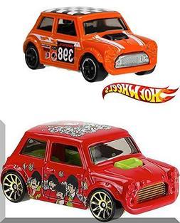 Beatles Hot Wheels Morris Mini Cooper & Off-Road Mini #80 Ca