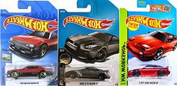 Hot Wheels Nissan First Editions series 3-Pack cars New 2018