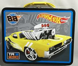 Hot Wheels Racing Embossed Tin Lunch Box