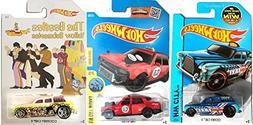 Beatles Hot Wheels Taxi Cockney Cab II + New Model Time Atta