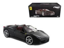 Hot wheels X5485 Ferrari 458 Italia Spider Matt Black Elite