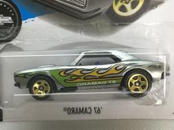 Hot Wheels ZAMAC '67 Camaro.  2018 Hot Wheels Month sticke